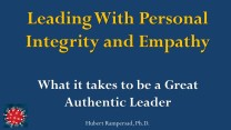 How to Develop Personal Integrity & Empathy Sustainably